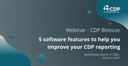 CDP Bitesize webinar