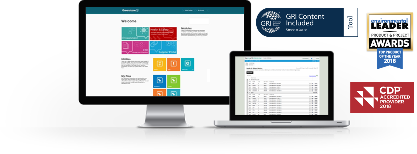 CSR reporting software - CDP, GRI and Top Product of the Year