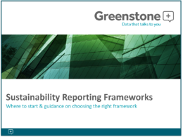 sustainability reporting frameworks guide