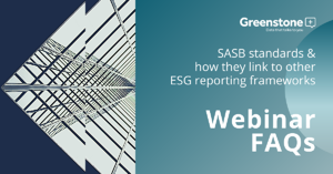 SASB webinar - FAQS