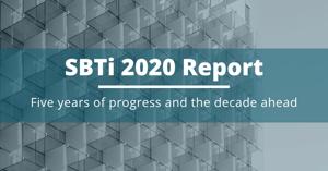 SBTi report 2020