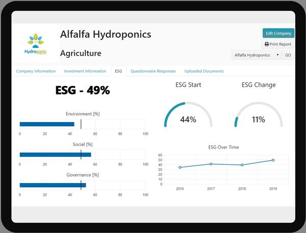 Investor ESG Software