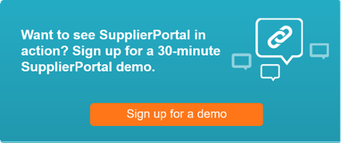 SupplierPortal demo sign up