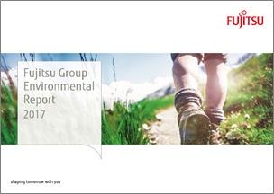Fujitsu Group Environmental Report 2017 wins prestigious award