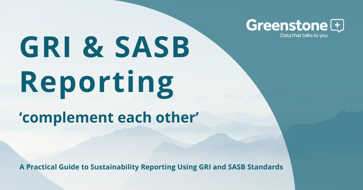 GRI and SASB reporting 'complement each other'