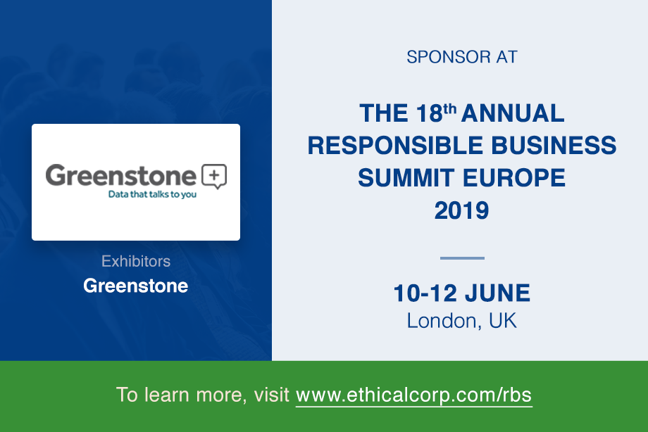 Greenstone sponsors leading Responsible Business event in Europe