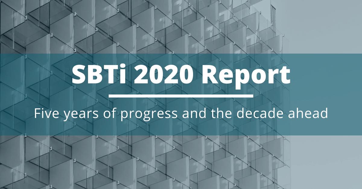 SBTi 2020 report