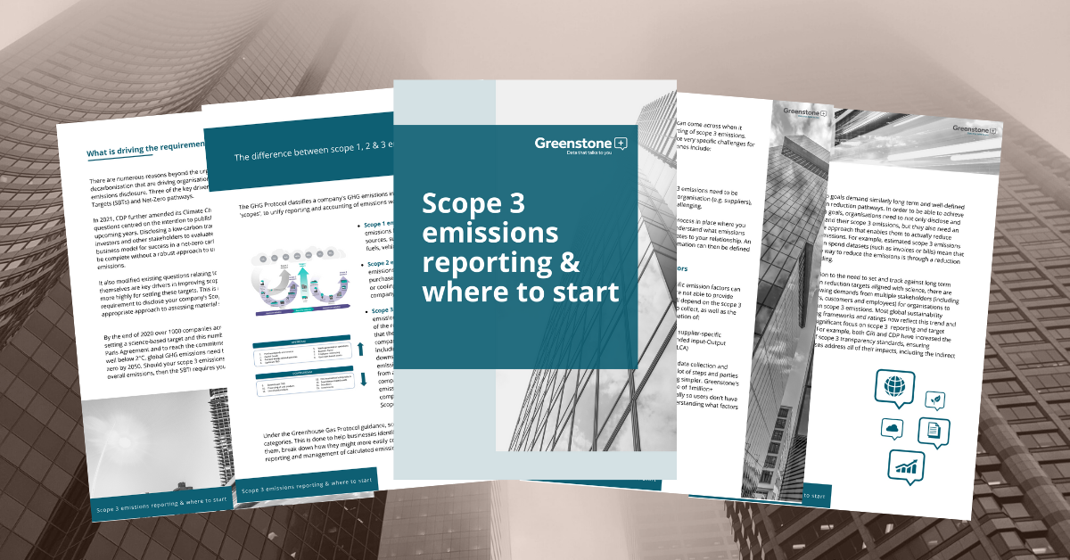 Greenstone publishes scope 3 emissions reporting guide